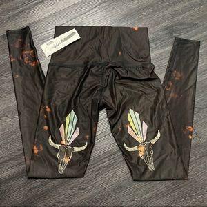 NWT Teeki Buffalo Princess Yoga Printed Legging XS